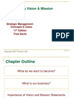 Chapter 2 the Business Vision Mission