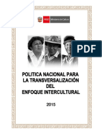 MC 2015 - Política Nacional para la Transversalización del Enfoque Intercultural.pdf