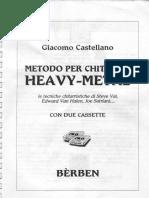 Giacomo Castellano - Metodo Per Chitarra Heavy-Metal