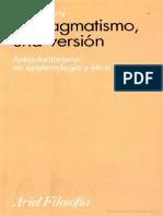 Rorty, Richard - El Pragmatismo Una Version. (Completo)