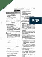Ley Que Modifica Cod. Proc. Civil Promover Celeridad Procesal (LEY 30293)
