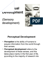 06 Perceptual Development. Bautista