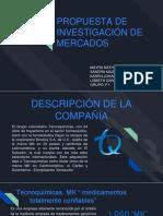 Propuesta de Investigacion de Mercados. Tecnoquimicas.biocalciumplus