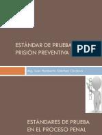 Estándar y Prisión Preventiva