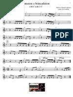 Janeiras e Brincadeiras - Partitura - Educacao Musical - Jose Galvao