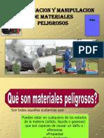 Identificacion de Materiales Peligrosos MSDS-NFPA SHUNTUR