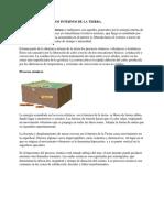 Procesos Geologicos Internos de La Tierra