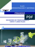 Decisiones de Financiamiento Corto y Largo Plazo