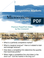 Chapter 14 - Firms in Competitive Markets
