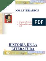 historia de la literatura