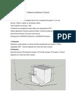 Desenho técnico trabalho