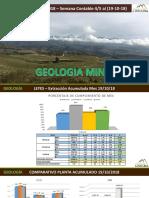 Reporte Semanal Geología mina Lincuna