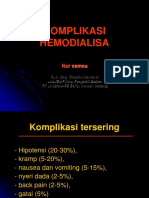 Komplikasi HD Indonesia