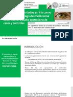 Lesiones Pigmentadas en Iris Como Marcador Del Riesgo