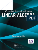 Qingwen Hu - Concise Introduction to Linear Algebra (2017, Chapman and Hall_CRC).pdf