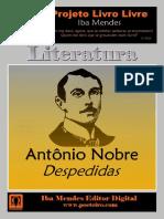Antonio Nobre - Despedidas