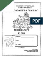 Libro Escuela Dominical niños de 10 a 13 años