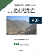 Actualizacion Plan Cierre Minera Cerro Lindo (1)
