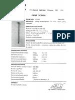 FICHAS TECNICAS TONILLERIA