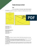 Reglas Del Juego de Futsal