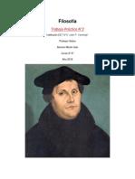 Filosofía de Martín Lutero aplicada a una Situación Actual