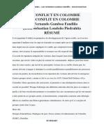 Reflexion Negociacion Version Francesa