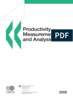 Productivity Measurement and Analysis