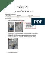 Práctica Nº5tecnologia FARMACEUTICA