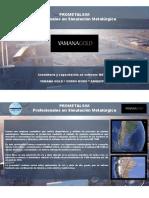 Presentación Yamana Gold Cerro Moro Argentina 2019