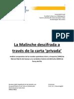 La Historia de La Malinche