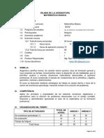 SILABO MATEMATICA BASICA  INGENIERIA DE SISTEMAS.docx