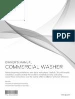 LG Commercial Washer Giant C MFL62526884