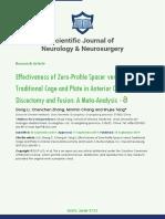 Scientifi c Journal of Neurology & Neurosurgery