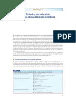 Criterios de Selección Resinas