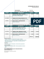 Cotizacion 001-024-16 - DVR 4CH - Ricardo
