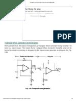 Triangular Wave Generator Using Op amp _ EEEGUIDE.pdf