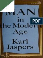 Man in the Modern Age - Jaspers, Karl, 1883-1969