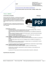 Yoytec Computer S.a.-hoja de Caracteristicas-HP Designjet T120 - 24 Impresora de Formato Grande Inyeccin de Tinta 1200dpi 256MB EPrint USB RJ45 Wi-Fi