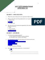 Cad Evaluation