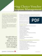 Quadel Housing Choice Voucher Program Management