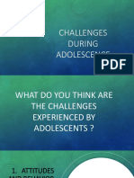 5 Challenges During Adolescence