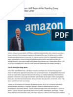 What I Learned From Jeff Bezos After Reading Every Amazon Shareholder Letter
