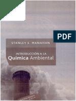 01 Introduccion a La Quimica Ambiental S E Manahan