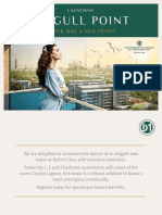 Seagull Point Residence 13 at MBR City Brochure