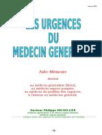 LES URGENCES Du Médecin Généraliste