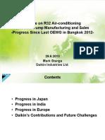 Update on R32 Air-conditioning_IIIB-3 Mark Stanga Daikin