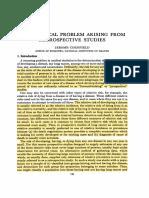 1956 - Cornfield - A Statistical Problem Arising From Retrospective Studies - Proc. 3rd Berkeley Symp. Math. Statist. Prob