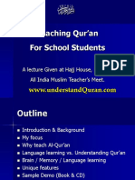 9Why_should_you_teach_Qur_an_in_Schools_02_Lecture_to_School_administrators.ppt