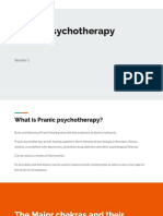 Pranic Psychotherapy Session 1
