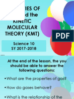 Gas Properties and KMT